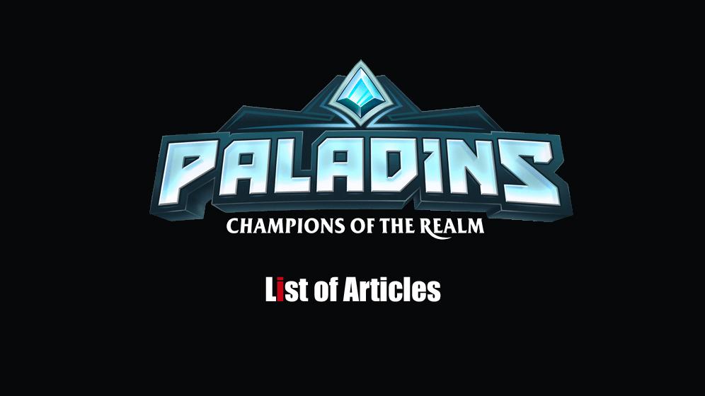 PALADINS(パラディンズ) 攻略まとめ【2019年7月12日更新】