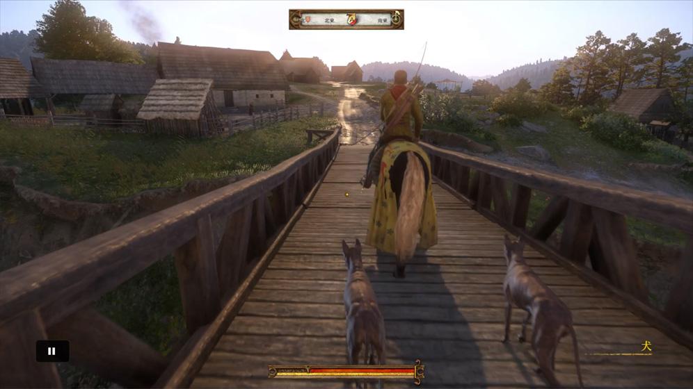 攻略チャート②:カポン卿の後ろをついていき狩場の野営地
