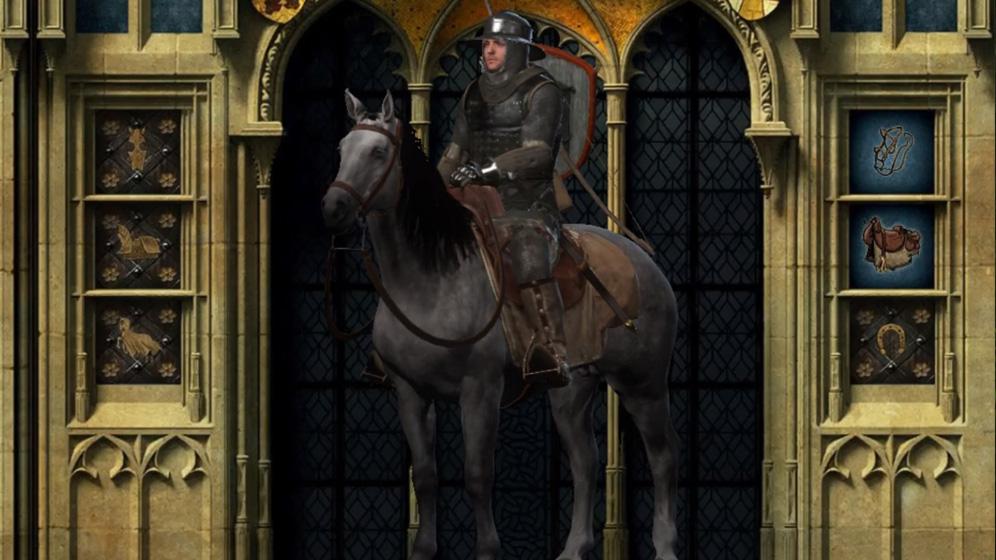 攻略チャート⑧:カポン卿を救出。ムービーの後、馬ゲット