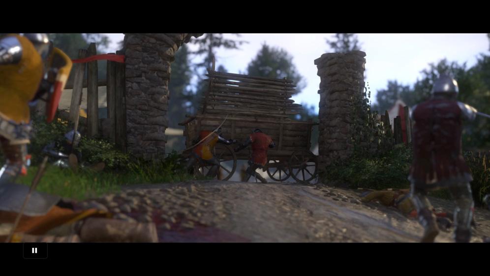 キャンプに到着後、キャンプ内の兵士と指揮官を倒す。
